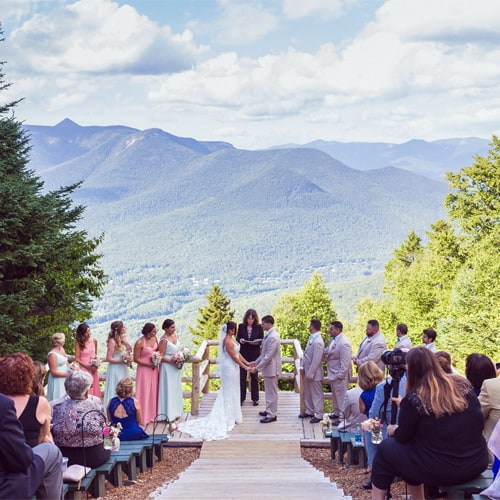 Wedding at Loon Mountain